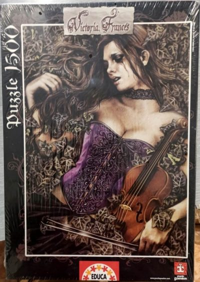Image of the puzzle 1500, Educa, Fallen Leaves, by Victoria Francés, Factory Sealed