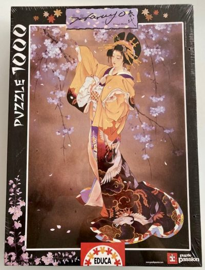 Image of the puzzle 1000, Educa, Yoi, by Haruyo Morita, Factory Sealed