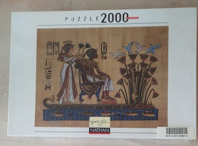 Image of the puzzle 2000, Nathan, The Pharaoh and his Wife, Factory Sealed
