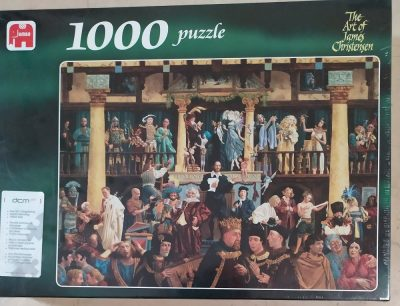 Image of the puzzle 1000, Jumbo, All the World's a Stage, James Christensen, Factory Sealed