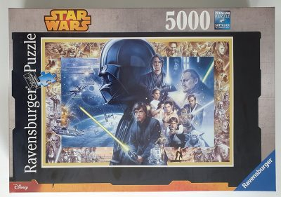 Image of the puzzle 5000, Ravensburger, Star Wars Saga XXL, Factory Sealed