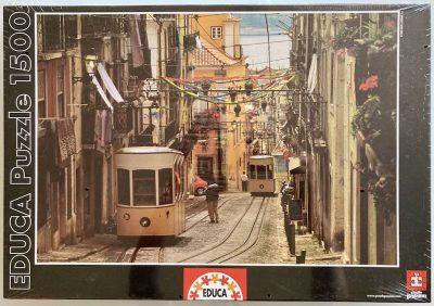 Image of the puzzle 1500, Educa, Barrio Alto, Lisbon, Portugal, Factory Sealed