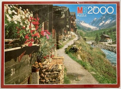 Image of the puzzle 2000, MB, Blatten, Valais, Switzerland, Factory Sealed
