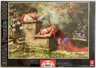 Image of the puzzle 8000, Educa, While She Was Sleeping, Factory Sealed, Picture of the box