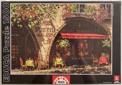 Image of the puzzle 1500, Educa, Summer in Provence, by Viktor Shvaiko, Factory Sealed