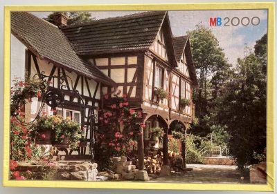 Image of the puzzle 2000, MB, Weierbach, Germany, Sealed Bag, Picture of the box