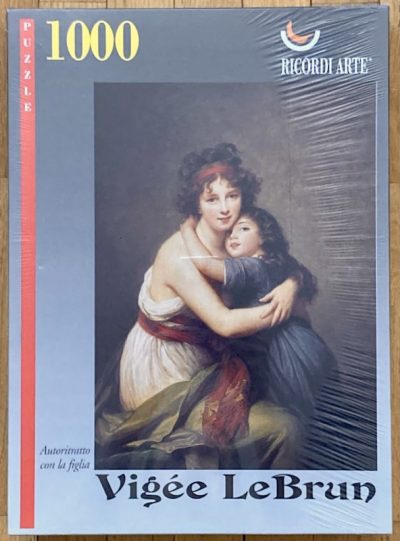 Image of the puzzle 1000, Ricordi, Self-Portrait with her Daughter, by Le Brun, Factory Sealed