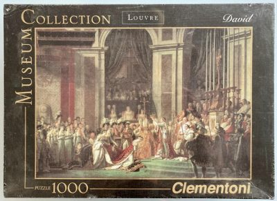 Image of the puzzle 1000, Clementoni, The Coronation of Emperor Napoleon I, Jacques-Louis David, Factory Sealed