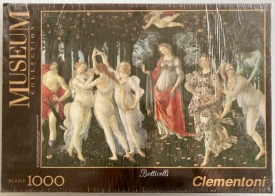 Image of the puzzle 1000, Clementoni, Allegory of Spring, by Sandro Botticelli, Factory Sealed