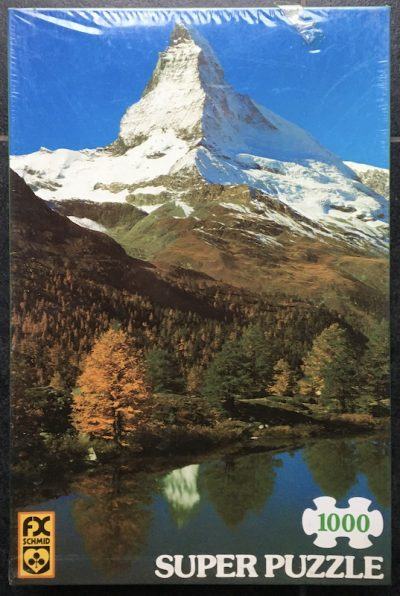 Image of the puzzle 1000, F.X. Schmid, Matterhorn, Switzerland, Factory Sealed