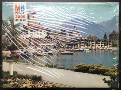 Image of the puzzle 3000, MB, Spiez, Switzerland, Factory Sealed, Picture of the box