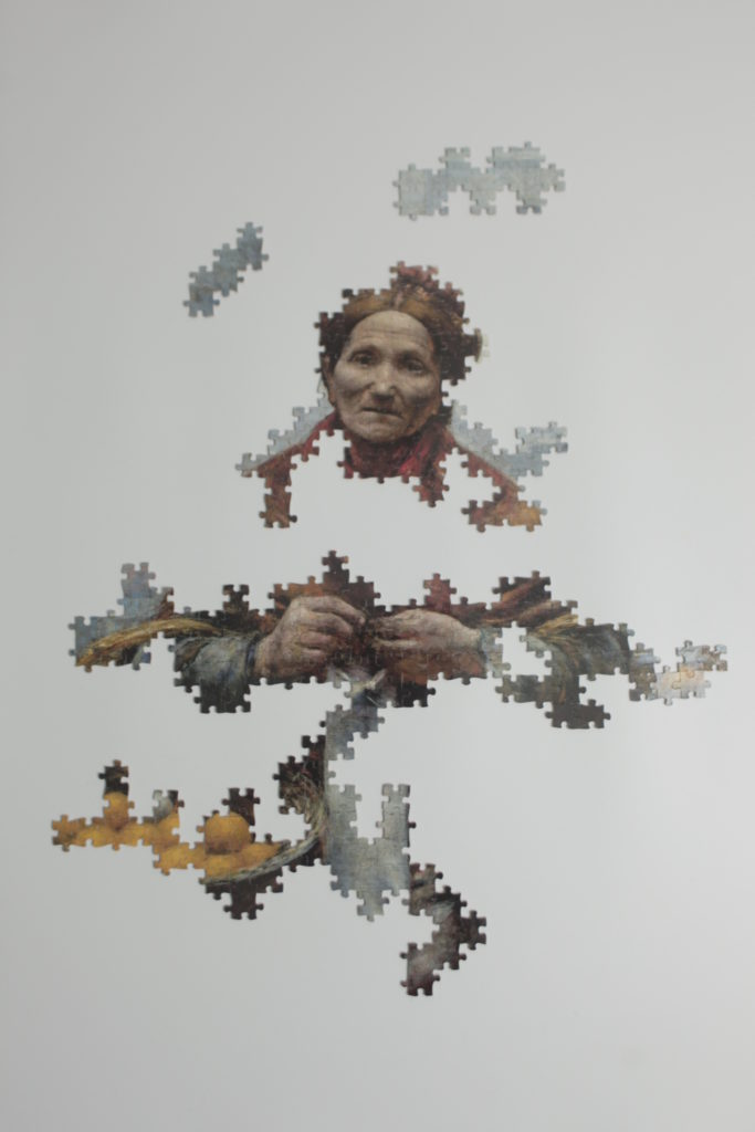 Image of a puzzle in progress